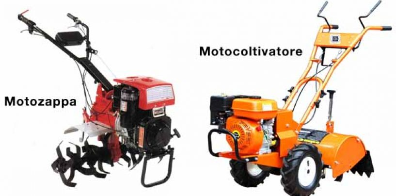 Motocoltivatore e motozappa