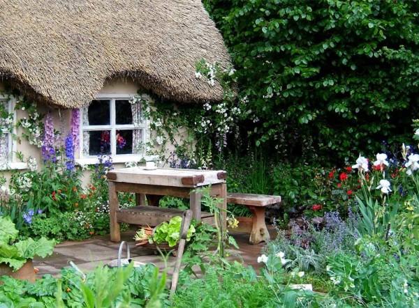 arredare un giardino all'inglese | coltivare facile - Decorare Un Giardino Piccolo