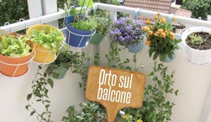 Come fare un orto sul balcone
