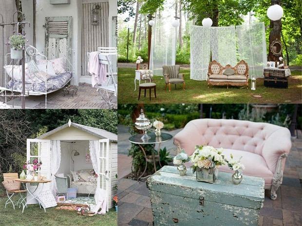 Scegliere gli arredi da esterno per il giardino for Esterno in stile country francese