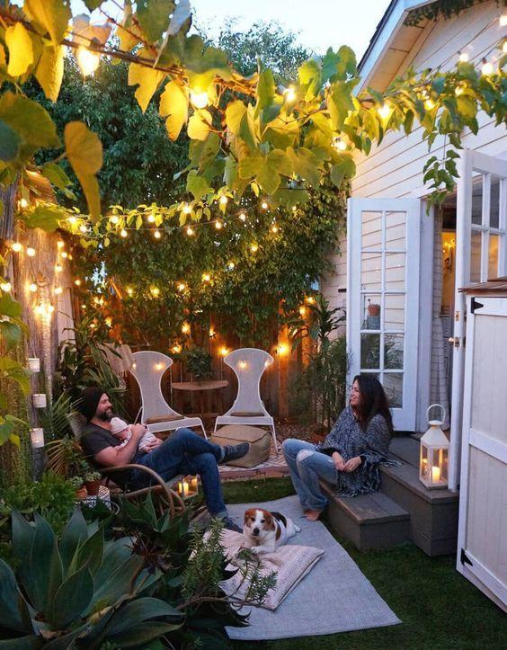 Come arredare un piccolo giardino - Arredare piccolo giardino ...