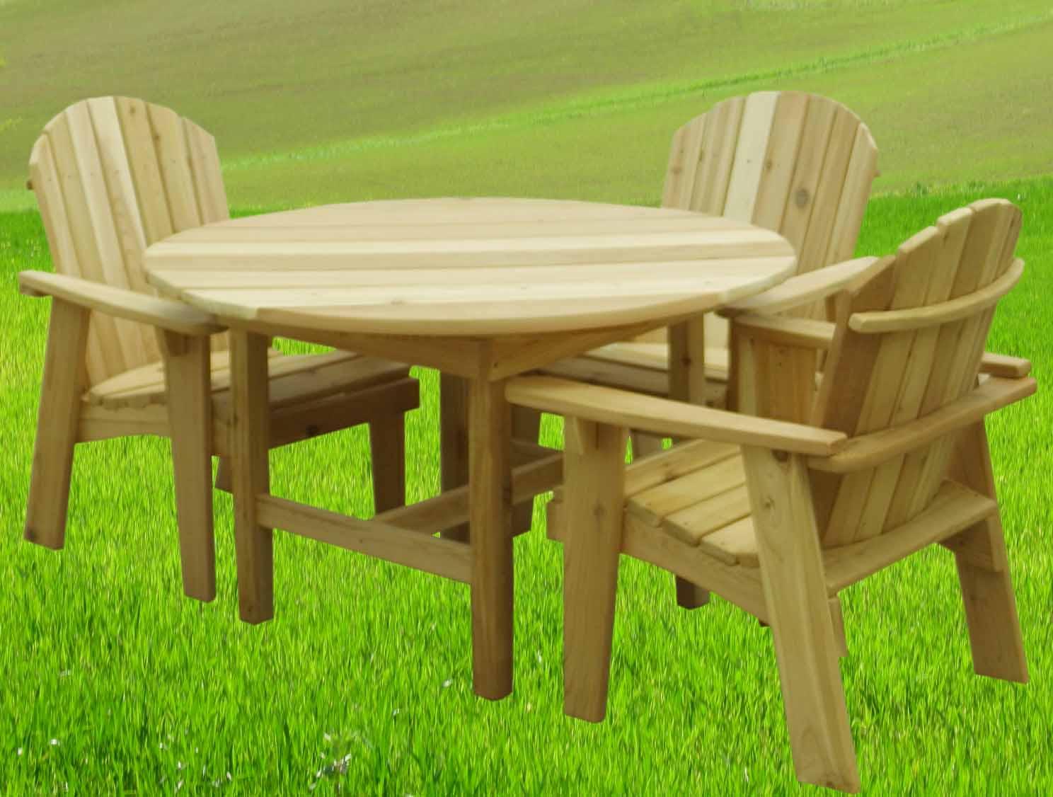Tavolo Di Legno Per Esterno.Tavoli Da Giardino