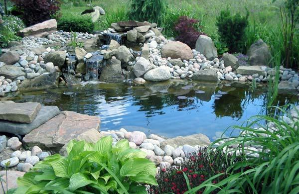 Creare un laghetto in giardino - Idee per realizzare un giardino ...
